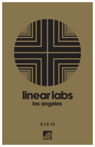Linear Labs-L Los Angeles Poster